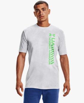 Men's UA Vertical Afterburn Echo Short Sleeve