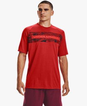 Men's UA Tech™ 2.0 Boxed Camo Short Sleeve