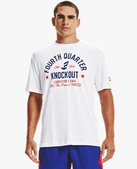 남성 UA 엠비드 4쿼터 티셔츠