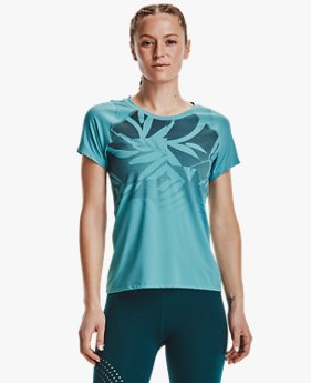 Women's UA Iso-Chill Run Short Sleeve