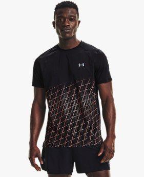 เสื้อวิ่งแขนสั้น UA Iso-Chill สำหรับผู้ชาย