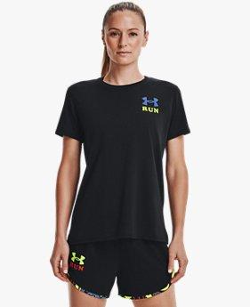 Women's UA Keep Run Weird Graphic Short Sleeve