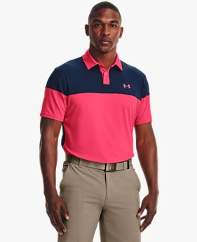 Men's UA T2G Blocked Polo