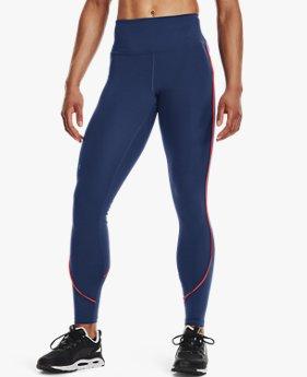 Women's UA RUSH™ HeatGear® No-Slip Waistband Mesh Pocket Full-Length Leggings