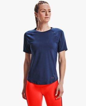 Women's UA RUSH™ HeatGear® Mesh Short Sleeve