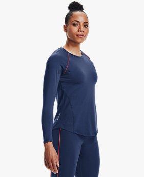 Women's UA RUSH™ HeatGear® Mesh Long Sleeve