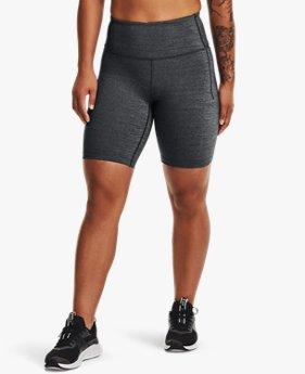 Shorts de Ciclismo Jaspeados UA Meridian para Mujer