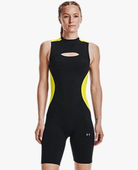 Women's UA RUSH™ HeatGear® 80's Pack Short Bodysuit
