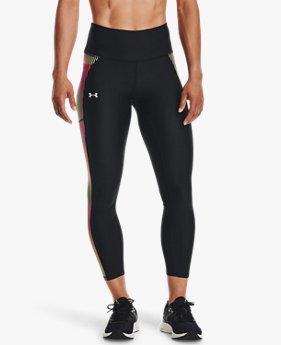 Women's HeatGear® Armour No-Slip Waistband Panel Ankle Leggings