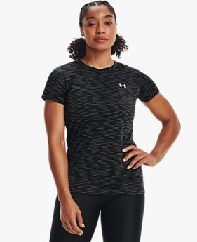 เสื้อแขนสั้น UA Tech™ Dash สำหรับผู้หญิง