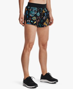 Women's UA Launch SW 3'' Day Of The Dead Shorts