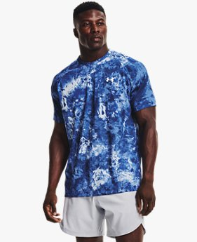 Men's UA Tech™ 2.0 Cloud Dye Short Sleeve
