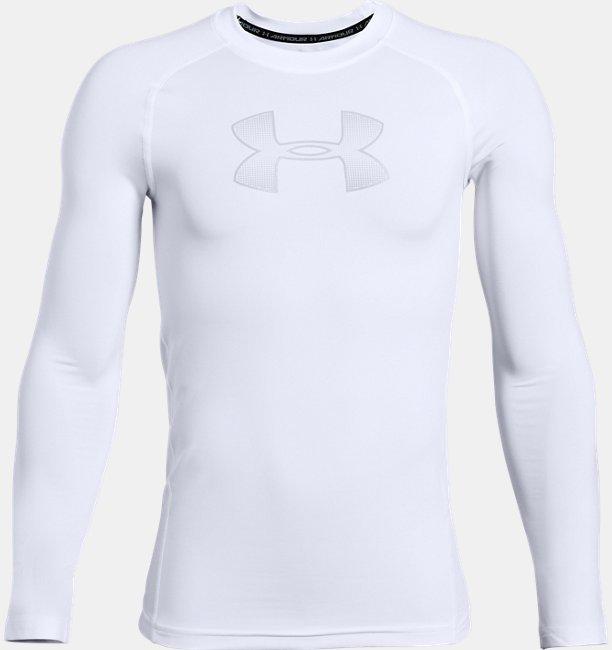 Boys HeatGear® Armour Long Sleeve