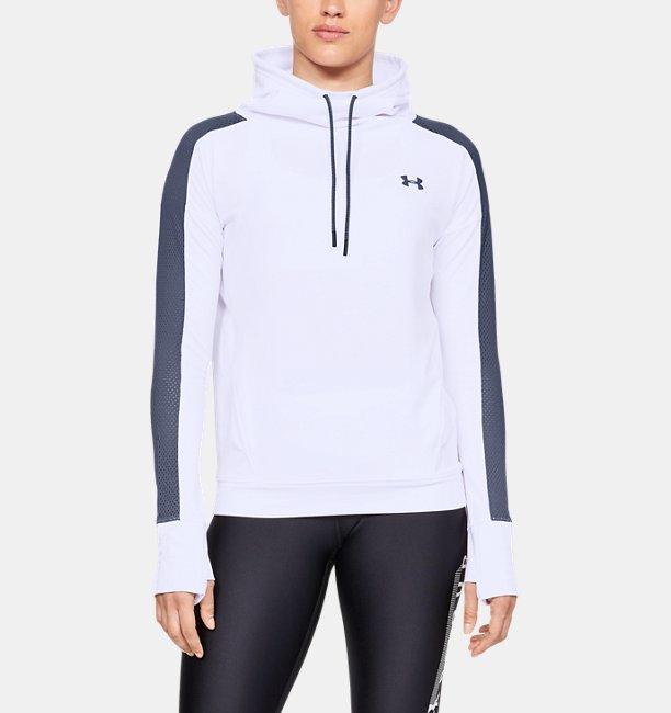 Damen Fleece-Pullover UA Feahtherweight, mit Trichterkragen a0834ac267