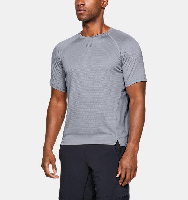 T-shirt a manica corta UA Qualifier HexDelta da uomo