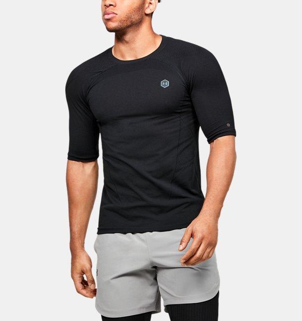 Men's UA RUSH™ Seamless Compression Short Sleeve