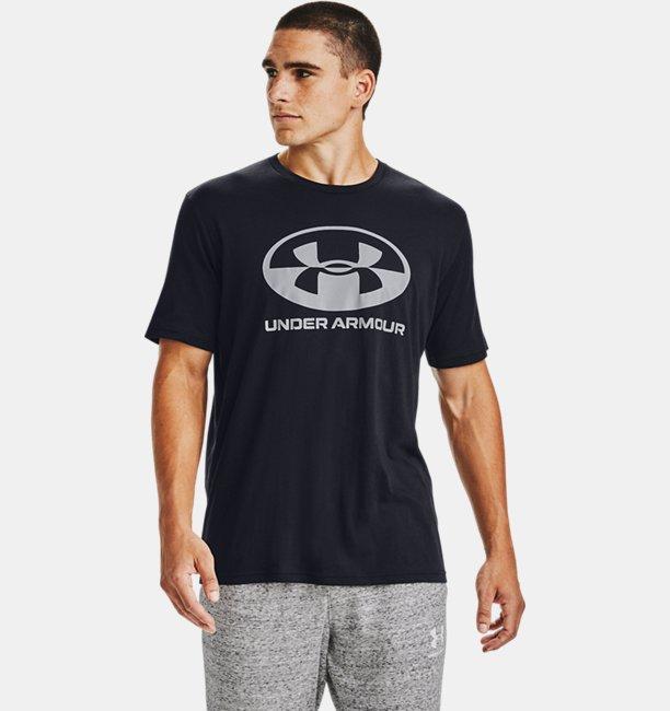 Herenshirt UA Locker Tag Wordmark met korte mouwen