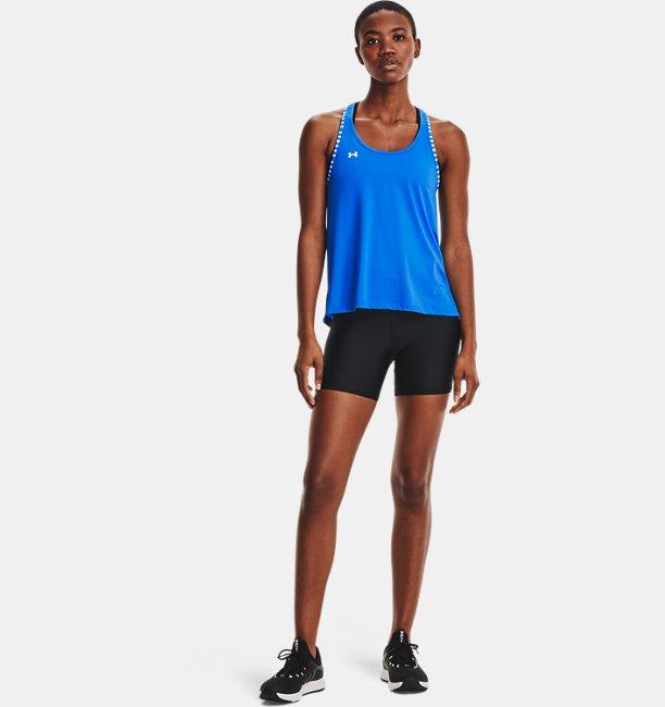 Women's HeatGear® Armour Mid-Rise Middy Shorts