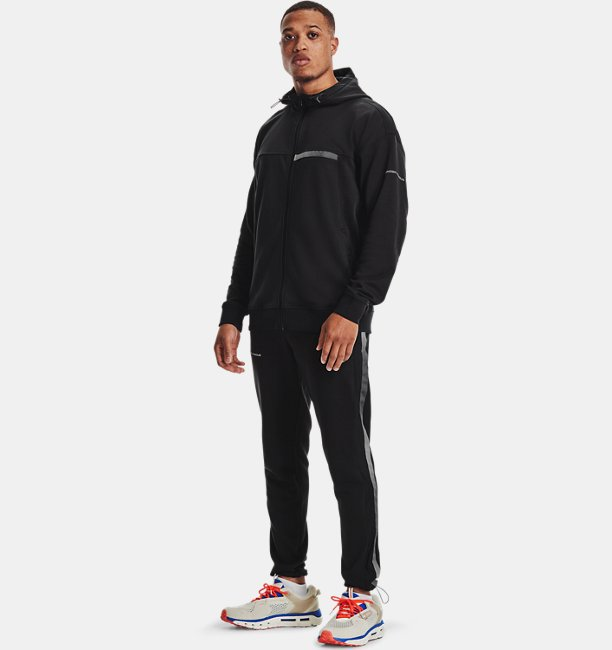 Men's UA Rival Terry AMP Full Zip Hoodie