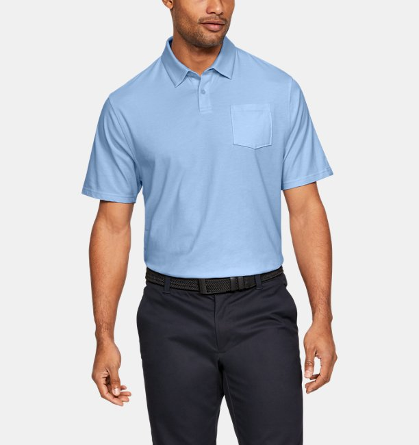 efa5c20f Under Armour Men's Charged Cotton® Scramble Polo