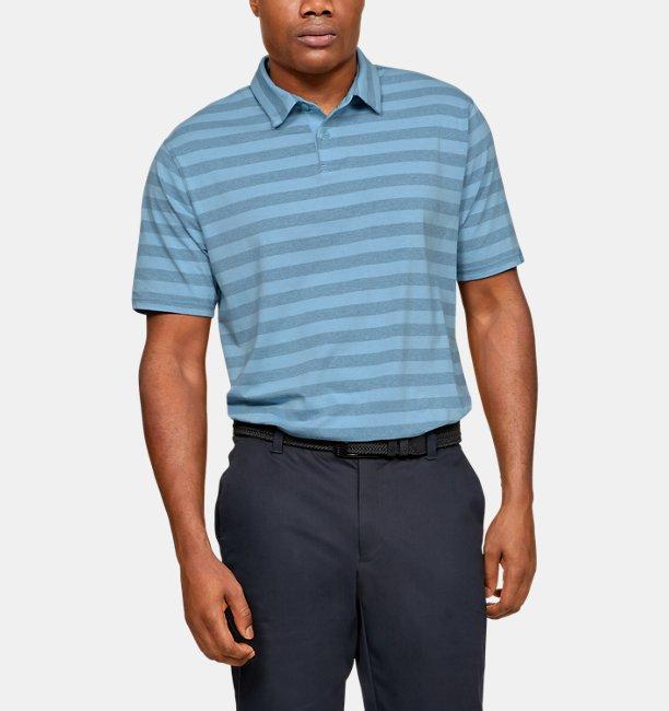 69c43556 Under Armour Men's Charged Cotton® Scramble Stripe Polo