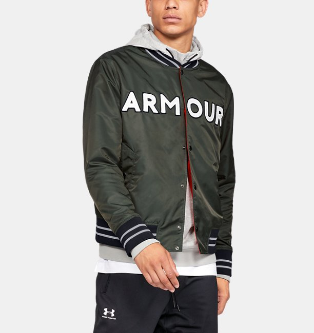 Under Armour Chaqueta bomber UA Be Seen para hombre 4cfbc7aff67