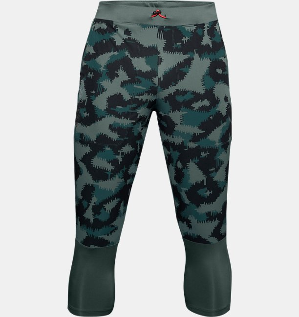 Men's UA Run Anywhere Printed ¾ Trousers