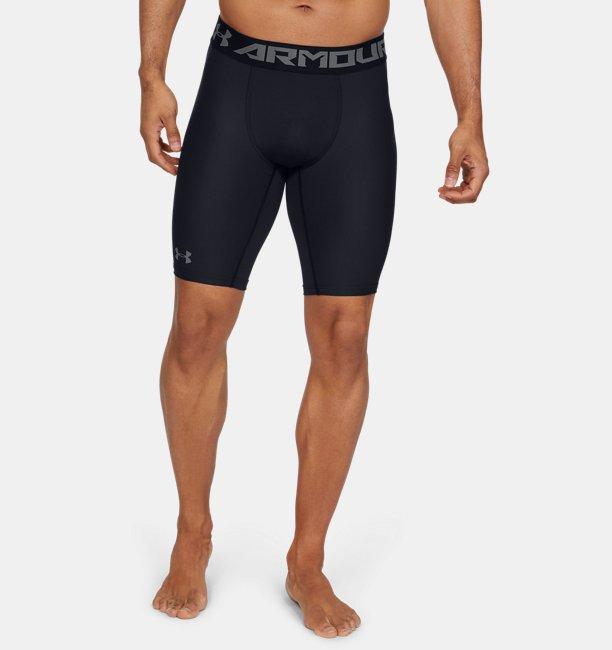 Men's HeatGear Armour Long Compression Shorts