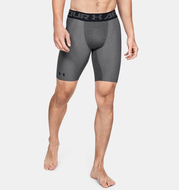 Men's HeatGear Armour Long Compression Shorts