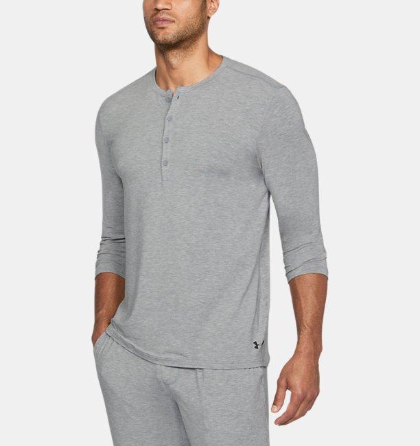 Under Armour Haut de pyjama Athlete Recovery Ultra Comfort pour homme TL0YBqFBG