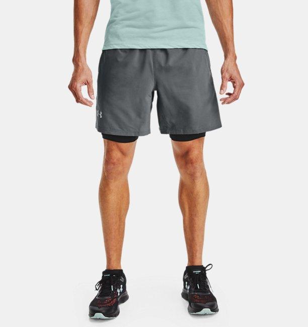 Men's UA Launch SW 2-in-1 Shorts