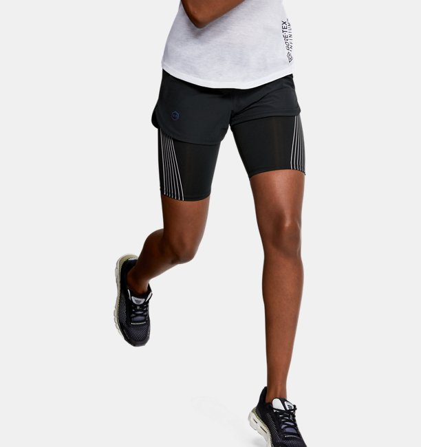 Women's UA RUSH Run 2-in-1 Shorts