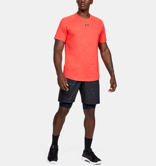 Men's HeatGear Armour Extra-Long Shorts