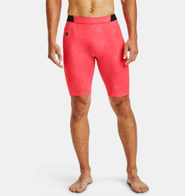 Men's UA RUSH HeatGear Compression Upstream Camo Shorts
