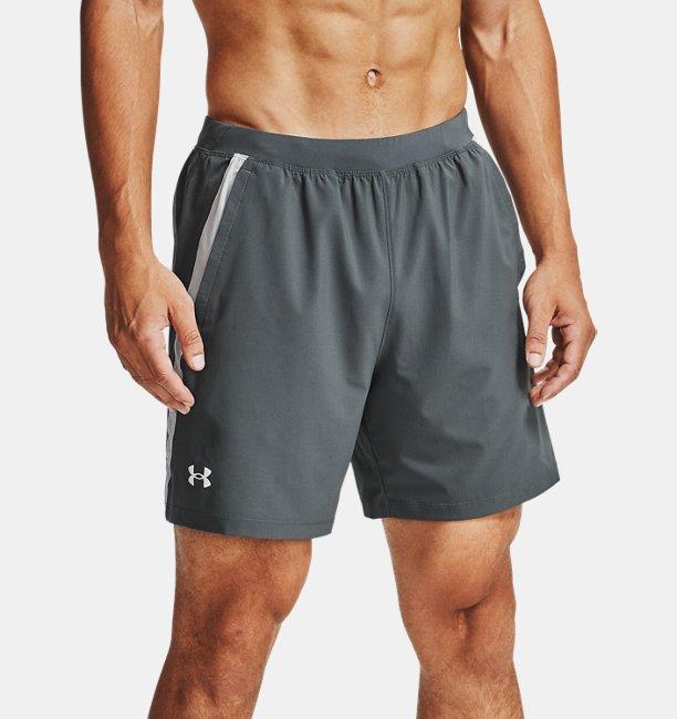 Men's UA Launch SW 18 cm Branded Shorts
