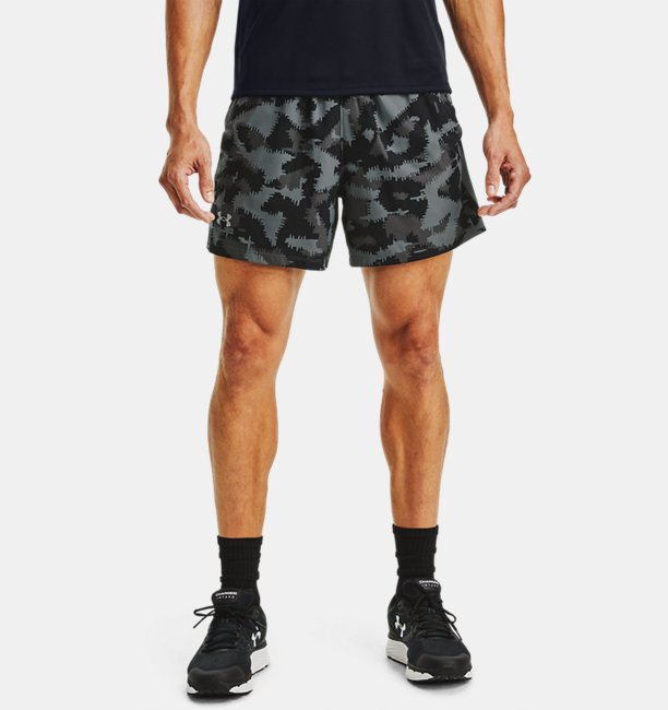 Men's UA Launch SW 13 cm Camo Shorts