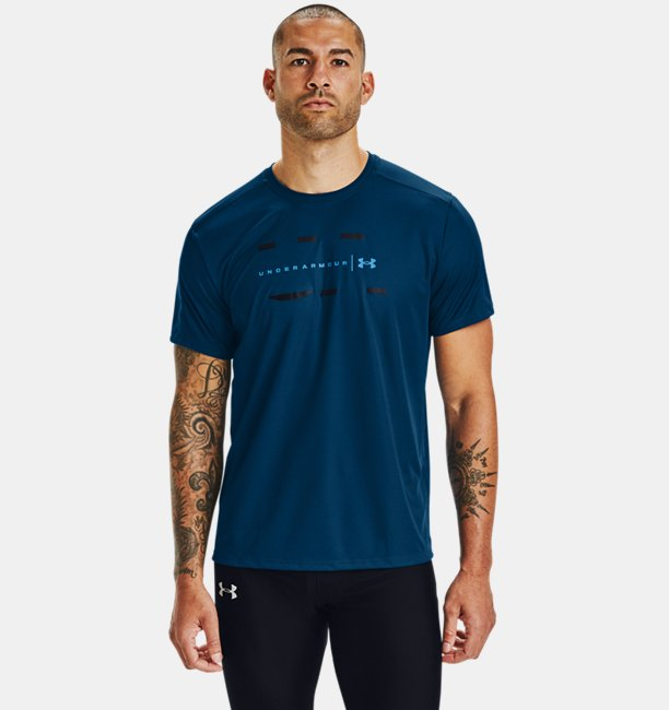 Men's UA Speed Stride Attitude Short Sleeve