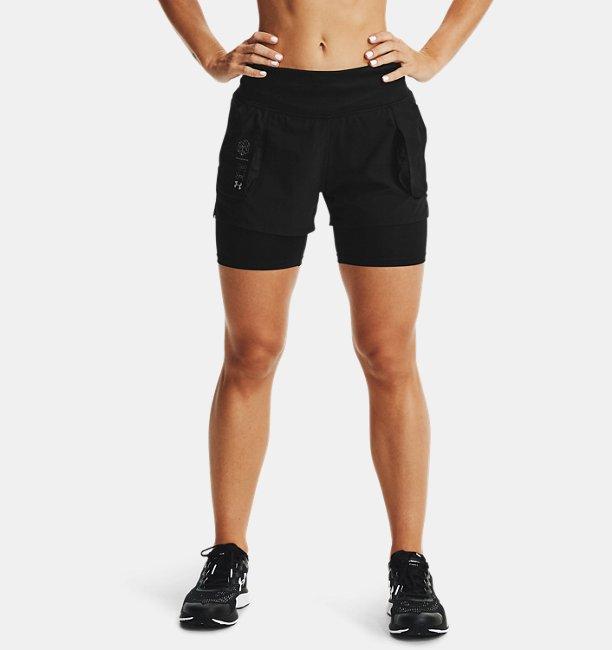 Women's UA Run Anywhere 2-in-1 Shorts