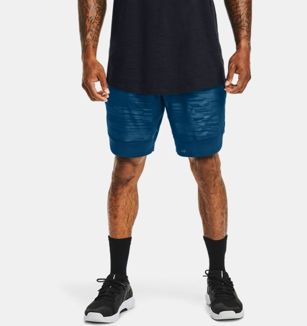 Men's UA Training Stretch Printed Shorts