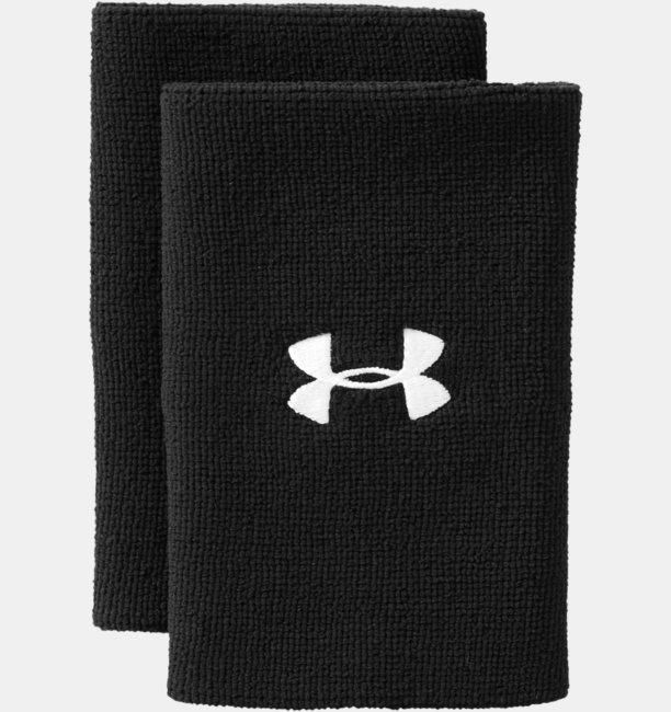 6 UA Performance Wristband 2-Pack