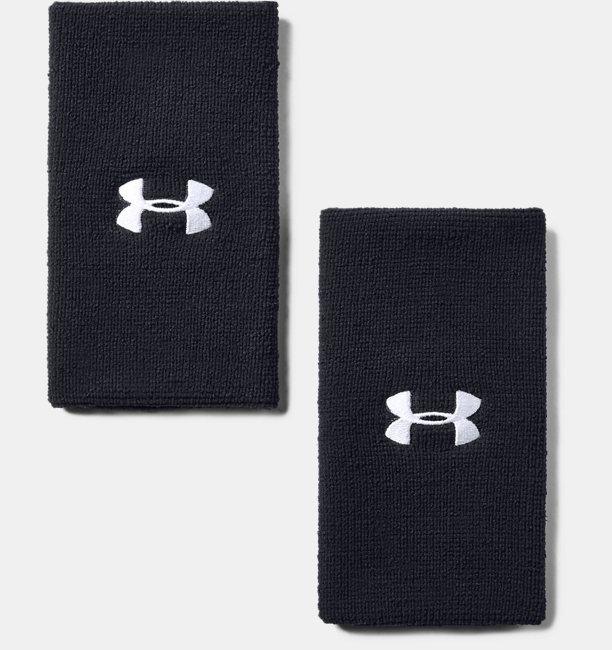 Paquete de 2 muñequeras UA de Rendimiento 15 cm