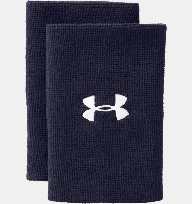 6 UA Performance Wristband 2-Pack