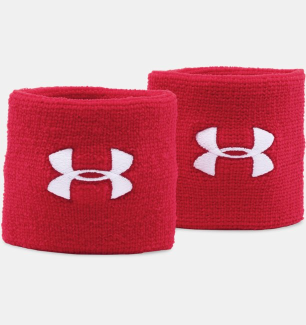 Mens UA 3 Performance Wristband - 2-Pack