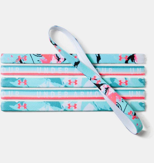 Girls UA Graphic Headbands - 6 Pack