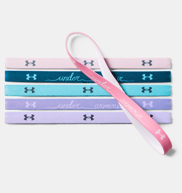 Girls UA Graphic Headbands - 6 Pack