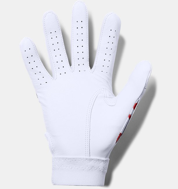 Boys UA Clean Up Printed Baseball Gloves