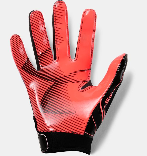 Boys UA F6 Football Gloves