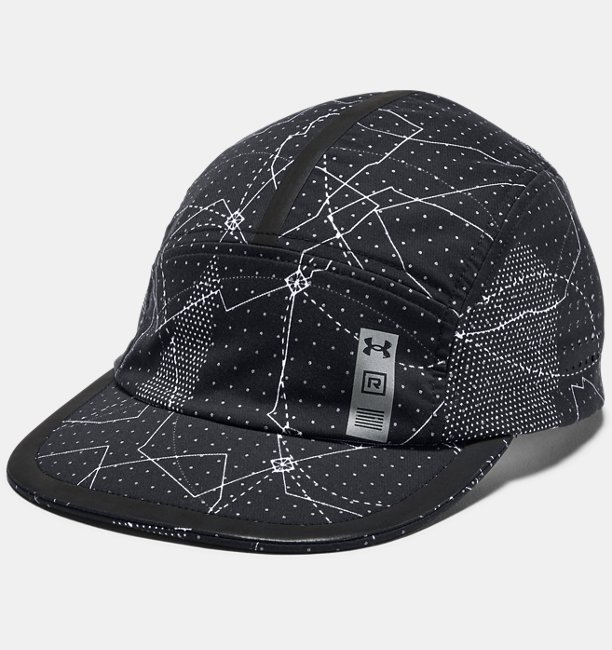 Mens UA Microthread Run Crew Cap