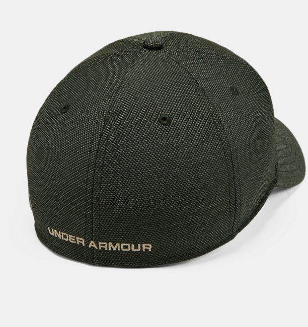 Erkek UA Heathered Blitzing 3.0 Şapka
