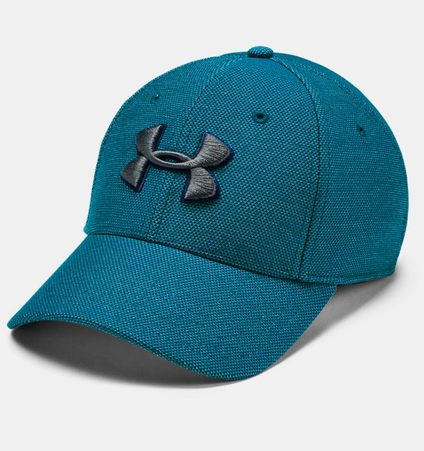 Mens UA Heathered Blitzing 3.0 Cap